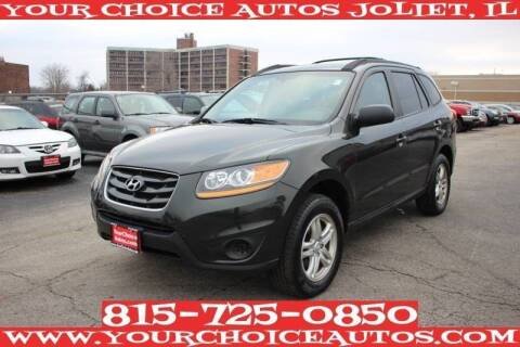 2010 Hyundai Santa Fe for sale at Your Choice Autos - Joliet in Joliet IL