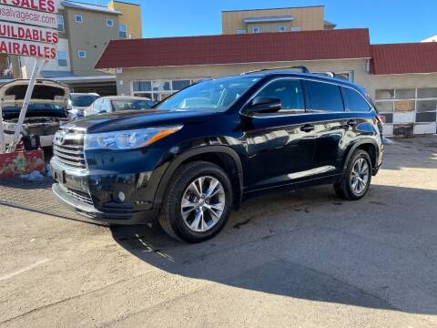 2015 Toyota Highlander for sale at STS Automotive in Denver CO