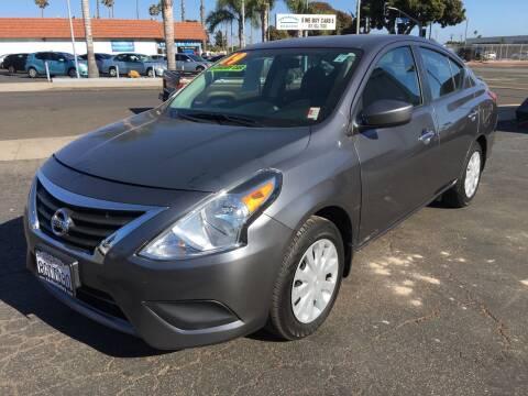 2019 Nissan Versa for sale at Auto Max of Ventura in Ventura CA