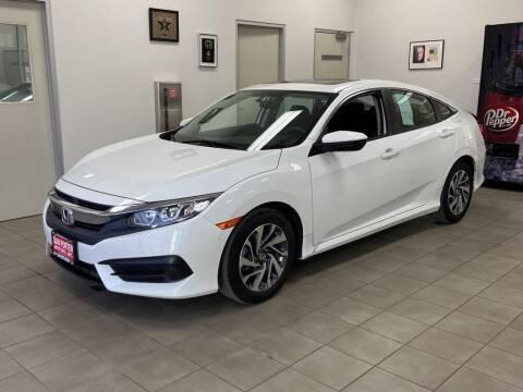 2018 Honda Civic for sale at DAN PORTER MOTORS in Dickinson ND