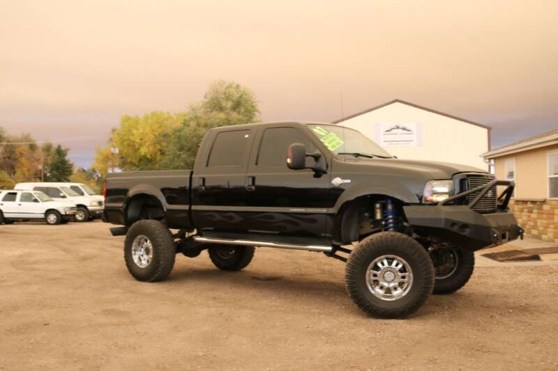 2007 Ford F-250 Super Duty for sale at Northern Colorado auto sales Inc in Fort Collins CO