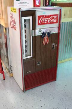 1960 COCA COLA MACHINE n/a for sale at Belmont Classic Cars - COOL STUFF in Belmont OH