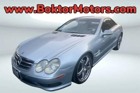 2003 Mercedes-Benz SL-Class for sale at Boktor Motors in North Hollywood CA