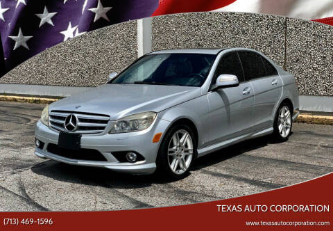 2008 Mercedes-Benz C-Class for sale at Texas Auto Corporation in Houston TX