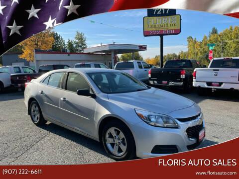 2015 Chevrolet Malibu for sale at FLORIS AUTO SALES in Anchorage AK