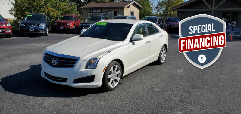 2013 Cadillac ATS for sale at Excellent Autos in Amsterdam NY