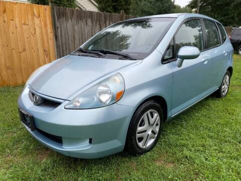 2007 Honda Fit for sale at ALL Motor Cars LTD in Tillson NY