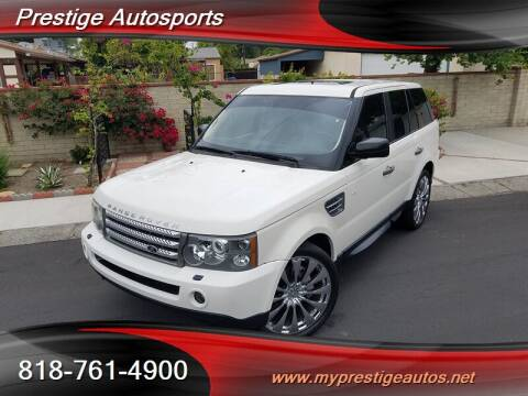 2009 Land Rover Range Rover Sport for sale at Prestige Auto Sports Inc in North Hollywood CA