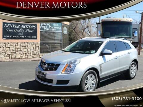 2012 Cadillac SRX for sale at DENVER MOTORS in Englewood CO