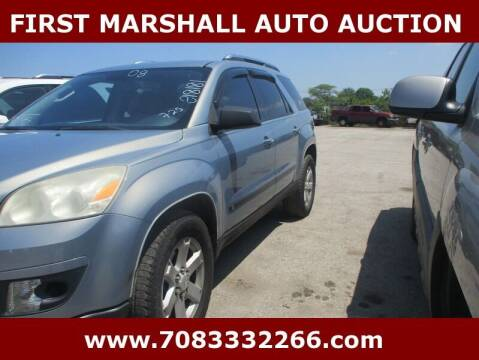 2008 Saturn Outlook for sale at First Marshall Auto Auction in Harvey IL