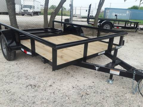 2020 6x10 rear ramp ult bulldog for sale at Texas Auto Trailer Exchange - 6 x Trailers in Cleburne TX