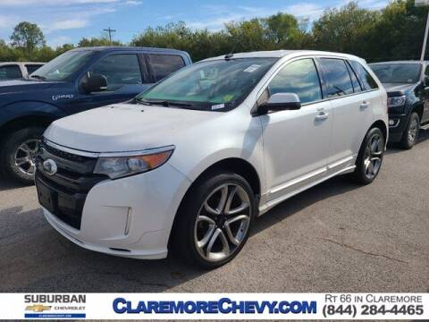 2014 Ford Edge for sale at Suburban Chevrolet in Claremore OK