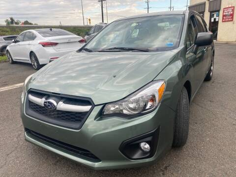 2014 Subaru Impreza for sale at Luxury Unlimited Auto Sales Inc. in Trevose PA