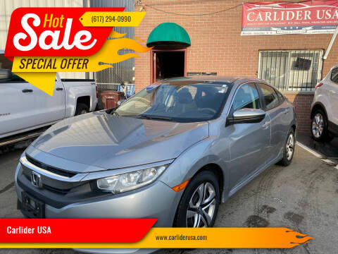 2016 Honda Civic for sale at Carlider USA in Everett MA