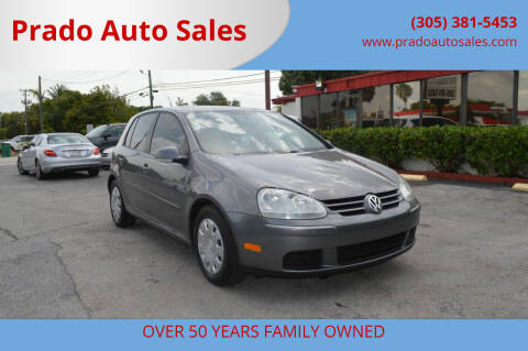 2009 Volkswagen Rabbit for sale at Prado Auto Sales in Miami FL