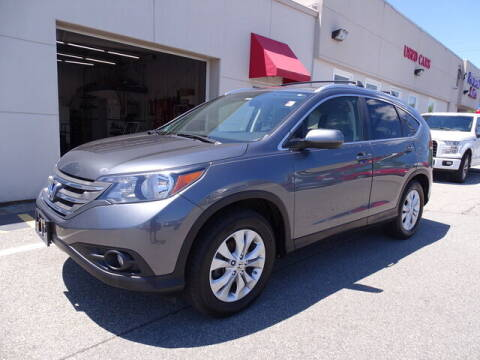 2012 Honda CR-V for sale at KING RICHARDS AUTO CENTER in East Providence RI