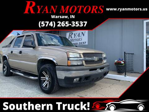 2005 Chevrolet Avalanche for sale at Ryan Motors LLC in Warsaw IN