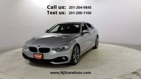 2016 BMW 4 Series for sale at NJ State Auto Used Cars in Jersey City NJ