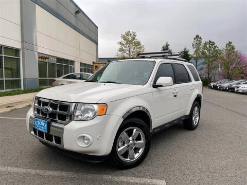 2012 Ford Escape for sale at Crown Auto Group in Falls Church VA
