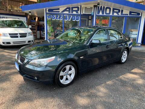2007 BMW 5 Series for sale at Car World Inc in Arlington VA
