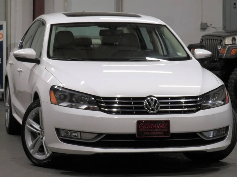 2012 Volkswagen Passat for sale at CarPlex in Manassas VA