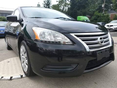 2013 Nissan Sentra for sale at Moor's Automotive in Hackettstown NJ