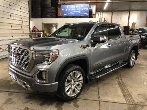 2020 GMC Sierra 1500 for sale at T James Motorsports in Gibsonia PA