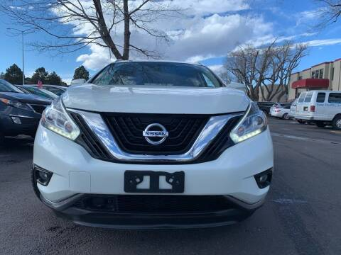 2015 Nissan Murano for sale at Global Automotive Imports of Denver in Denver CO