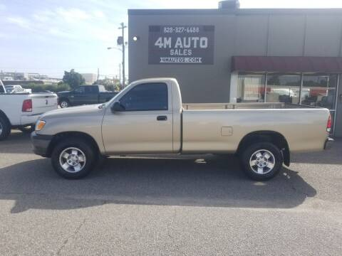 2002 Toyota Tundra for sale at 4M Auto Sales | 828-327-6688 | 4Mautos.com in Hickory NC