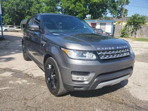 2016 Land Rover Range Rover Sport for sale at Tony's Auto Plex in San Antonio TX