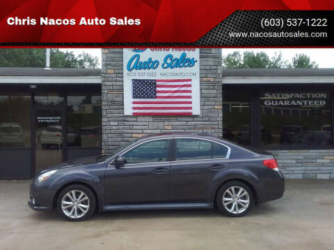 2013 Subaru Legacy for sale at Chris Nacos Auto Sales in Derry NH