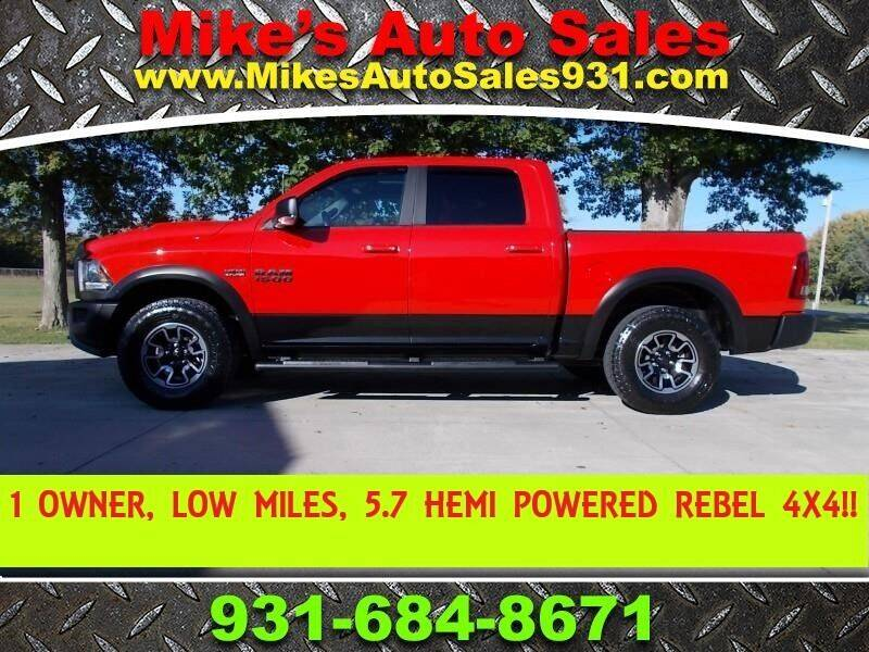 2017 RAM Ram Pickup 1500 for sale at Mike's Auto Sales in Shelbyville TN