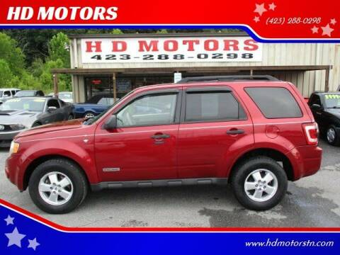 2008 Ford Escape for sale at HD MOTORS in Kingsport TN