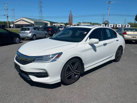 2017 Honda Accord for sale at Paul Hiltbrand Auto Sales LTD in Cicero NY