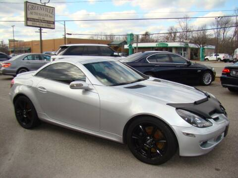2005 Mercedes-Benz SLK for sale at Greenville Auto Sales in Warwick RI