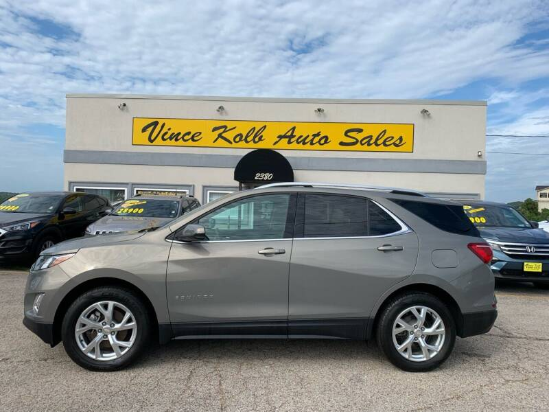 2018 Chevrolet Equinox for sale at Vince Kolb Auto Sales in Lake Ozark MO