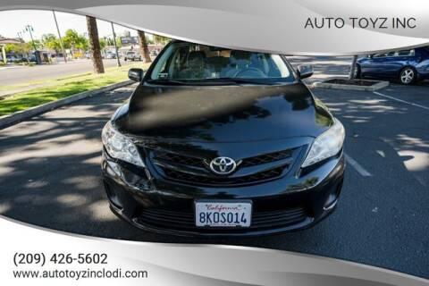 2011 Toyota Corolla for sale at Auto Toyz Inc in Lodi CA