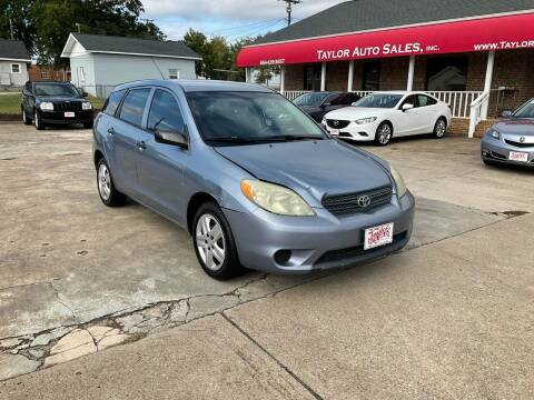 2006 Toyota Matrix for sale at Taylor Auto Sales Inc in Lyman SC