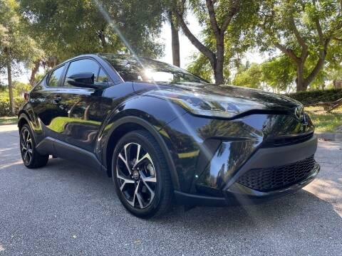 2020 Toyota C-HR for sale at DELRAY AUTO MALL in Delray Beach FL