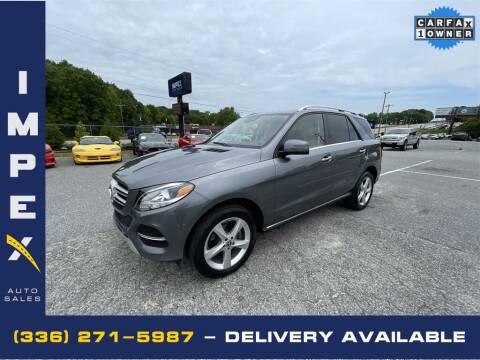 2018 Mercedes-Benz GLE for sale at Impex Auto Sales in Greensboro NC