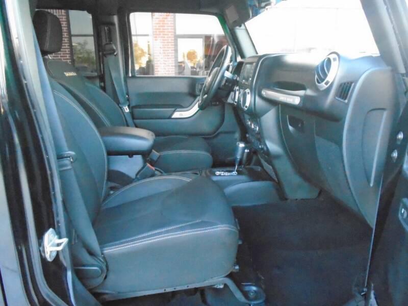 2015 Jeep Wrangler Unlimited 4x4 Sahara 4dr SUV - Houston TX