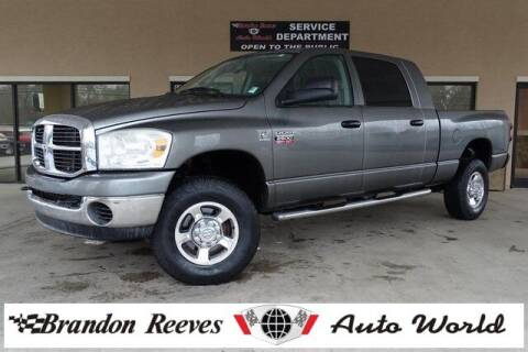 2008 Dodge Ram Pickup 2500 for sale at Brandon Reeves Auto World in Monroe NC