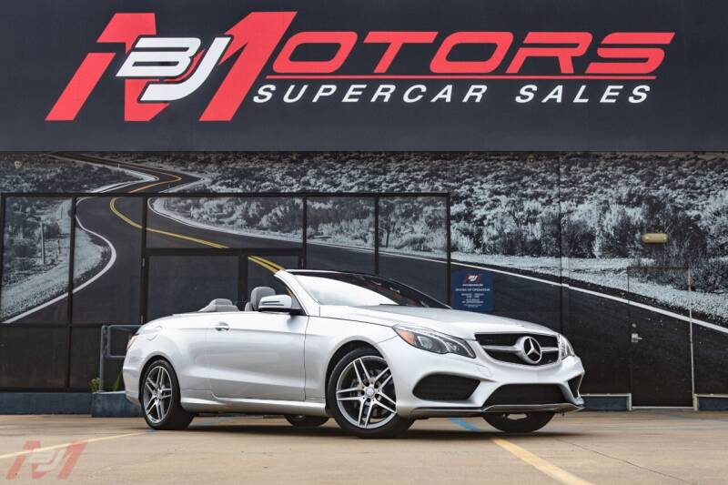 2017 Mercedes-Benz E-Class for sale at BJ Motors in Tomball TX