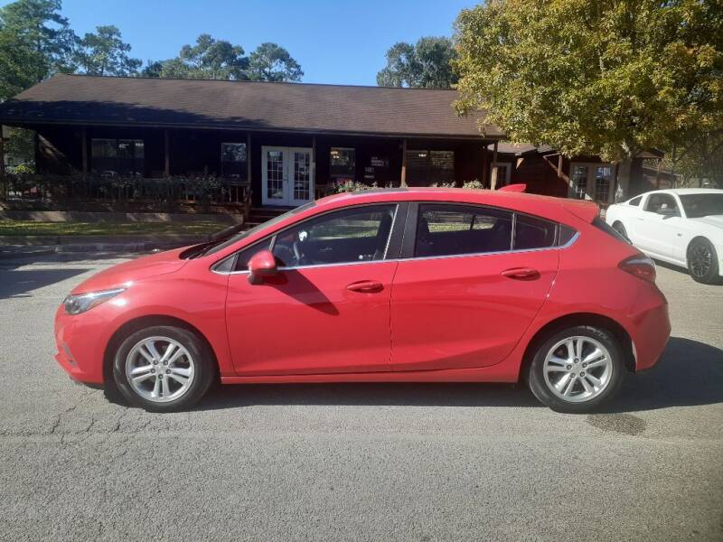 2018 Chevrolet Cruze for sale at Victory Motor Company in Conroe TX