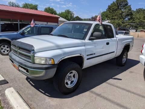 2001 Dodge Ram Pickup 1500 for sale at Progressive Auto Sales in Twin Falls ID