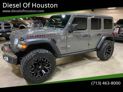 2020 Jeep Wrangler Unlimited for sale at Diesel Of Houston in Houston TX