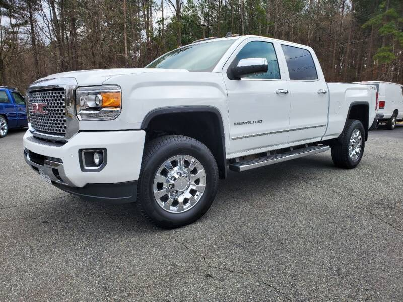 2015 GMC Sierra 2500HD for sale at Brown's Used Auto in Belmont NC
