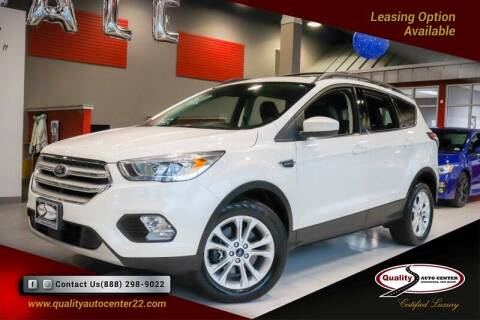 2018 Ford Escape for sale at Quality Auto Center of Springfield in Springfield NJ