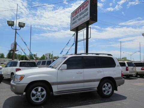 2004 Toyota Land Cruiser for sale at United Auto Sales in Oklahoma City OK