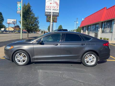 2018 Ford Fusion for sale at Select Auto Group in Wyoming MI